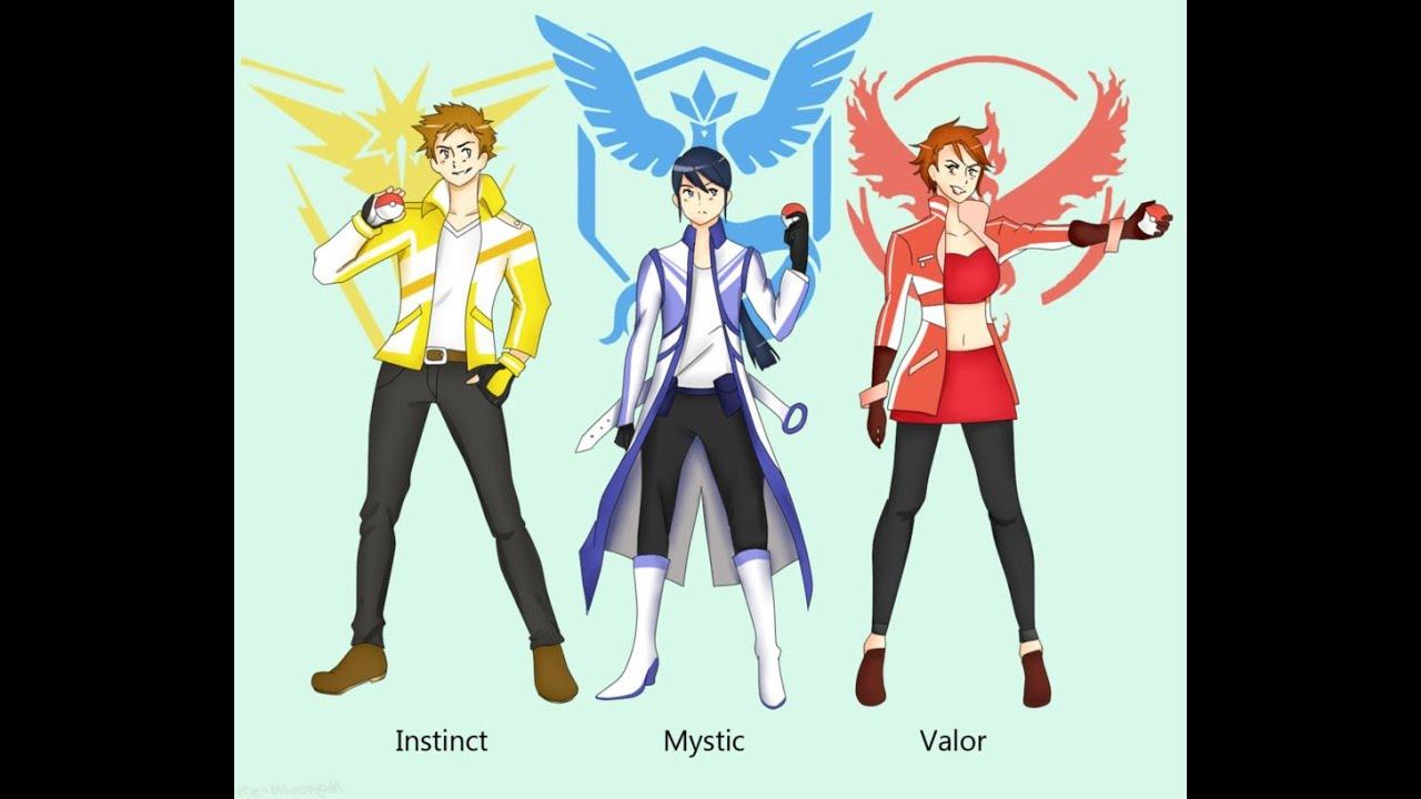 Pokemon GO Teams: Mystic-Blanche.Articuno, Instinct-Spark ...