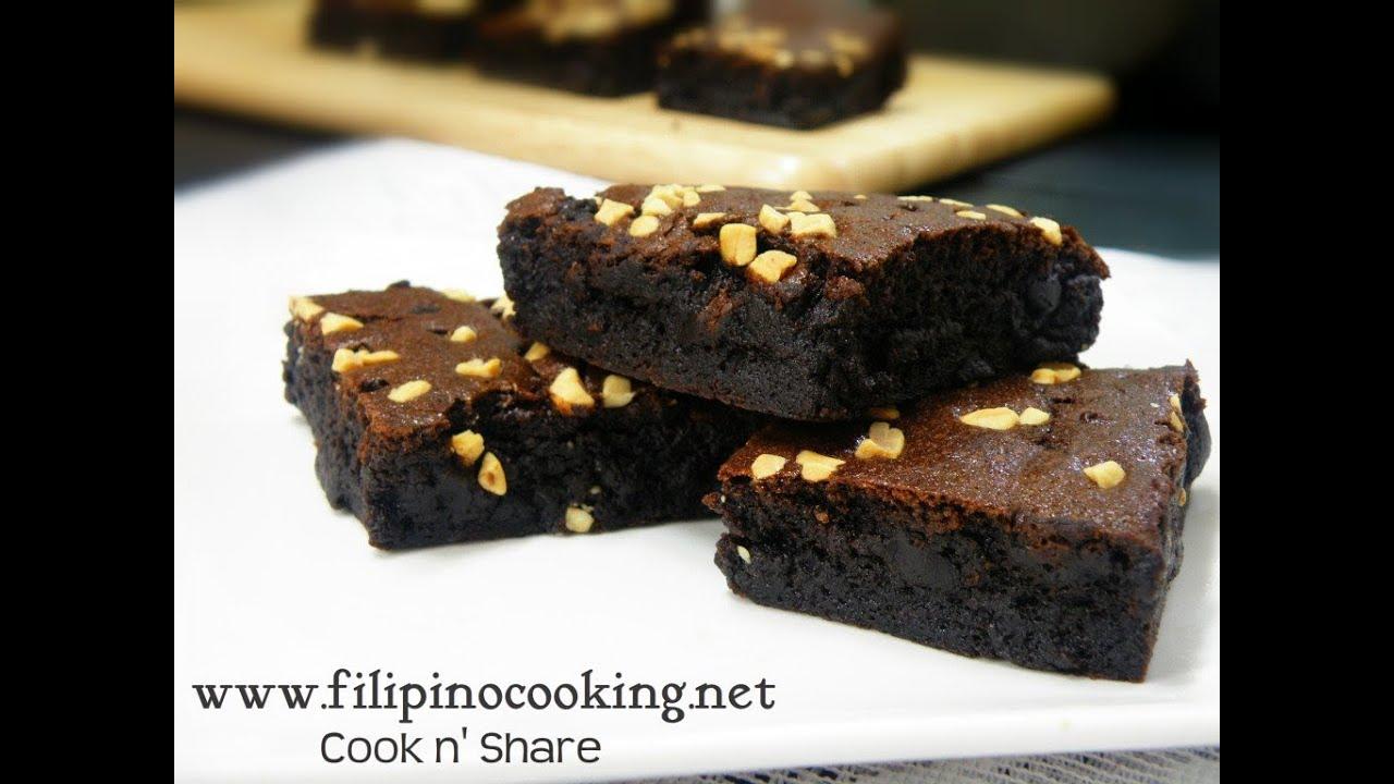 Chocolate Moist Cake Recipe Panlasang Pinoy