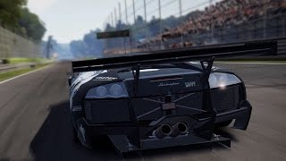 Need For Speed: Shift 2 Unleashed - Lamborghini Murcielago R-SV GT1 - Test Drive Gameplay (HD)