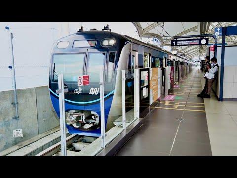 MRT Jakarta 2020 - Bundaran HI to Blok M Station [4K]