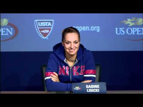 2011 US Open Press Conferences: Sabine Lisicki (First Round)