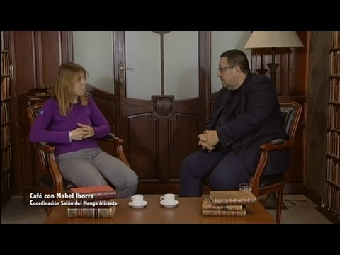 Café con... Mabel Iborra, coordinadora del Salón del Manga de Alicante
