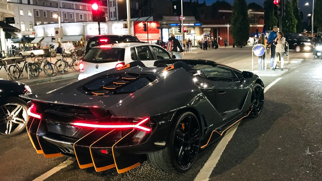 5million Lamborghini Centenario Roadster Causes Chaos In London