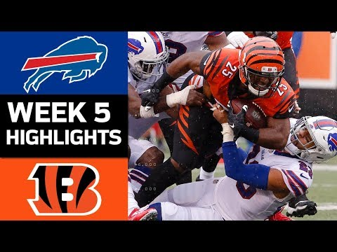 Bills vs. Bengals | NFL Week 5 Game Highlights