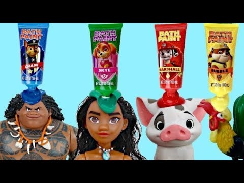 MOANA Deluxe Adventure Set with Paw Patrol Bath Paint   Toys     MOANA Deluxe Adventure Set with Paw Patrol Bath Paint   Toys Unlimited