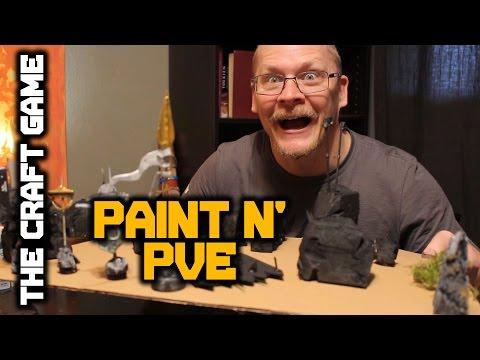 Paint n' PVE! Mini sponge technique.