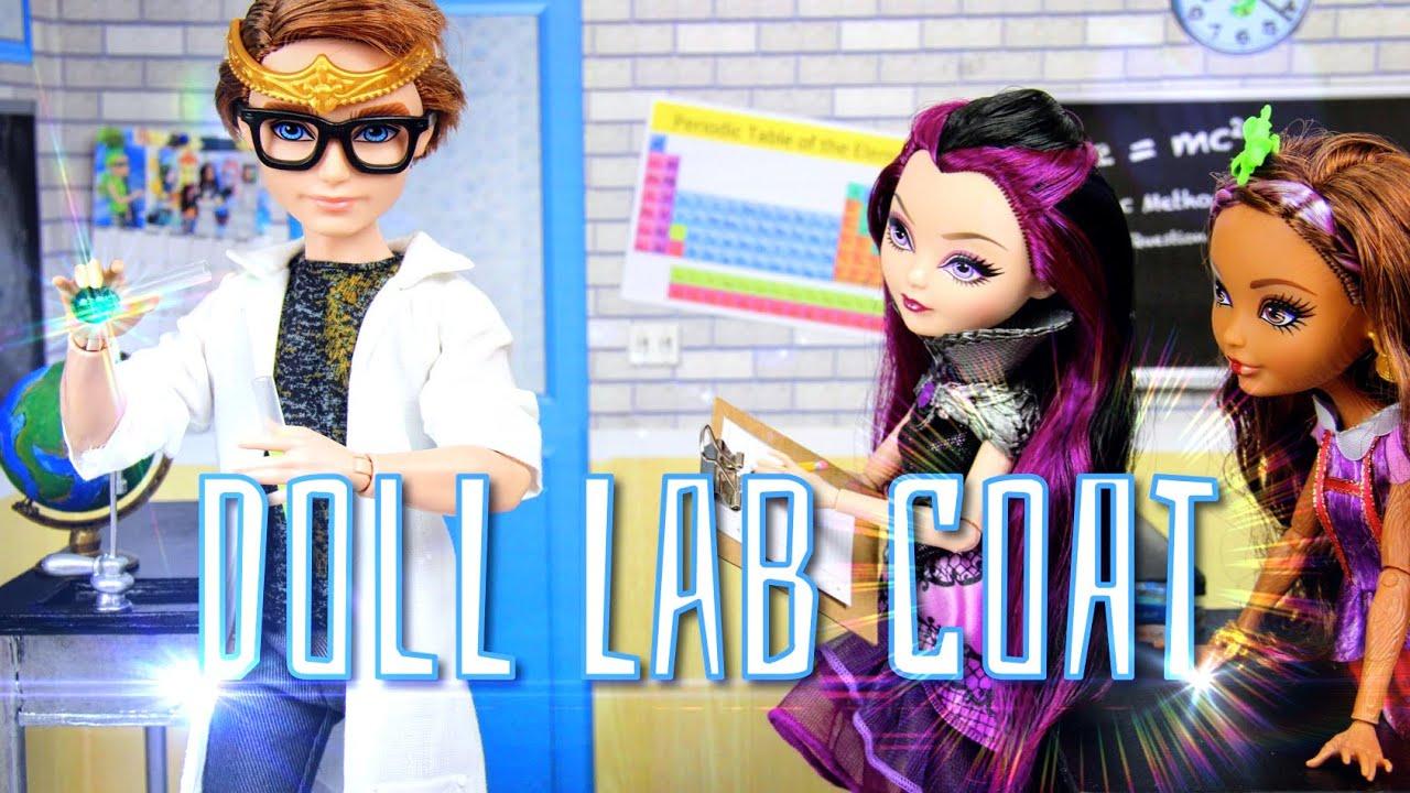 Diy how to make doll lab coat trench coat designer coat rain diy how to make doll lab coat trench coat designer coat rain coat handmade doll crafts youtube jeuxipadfo Gallery