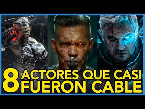 8 ACTORES QUE CASI INTERPRETARON A CABLE EN DEADPOOL 2