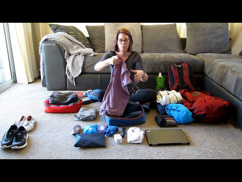 Women's Long-Term Travel - What I Packed for South and Central America
