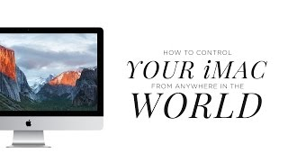 Gambar cover How to Remotely Control Your iMac with Your Macbook...From Anywhere In the World!