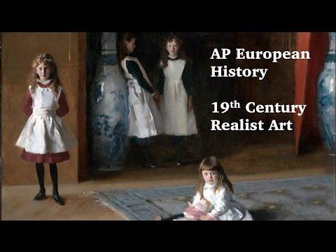 AP Euro: 19th Century Realism