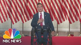 Madison cawthorn, a congressional candidate from north carolina, reflects on an accident that left him paralyzed the waist down and drive he found t...