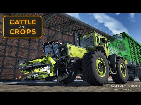 UN JEU AGRICOLE MIEUX QUE FARMING SIMULATOR 19 ?! ( Cattle And Crops)