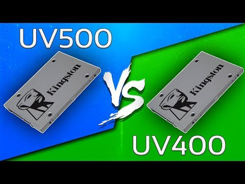 Kingston UV500 vs UV400 SSD (240GB) - Comparison