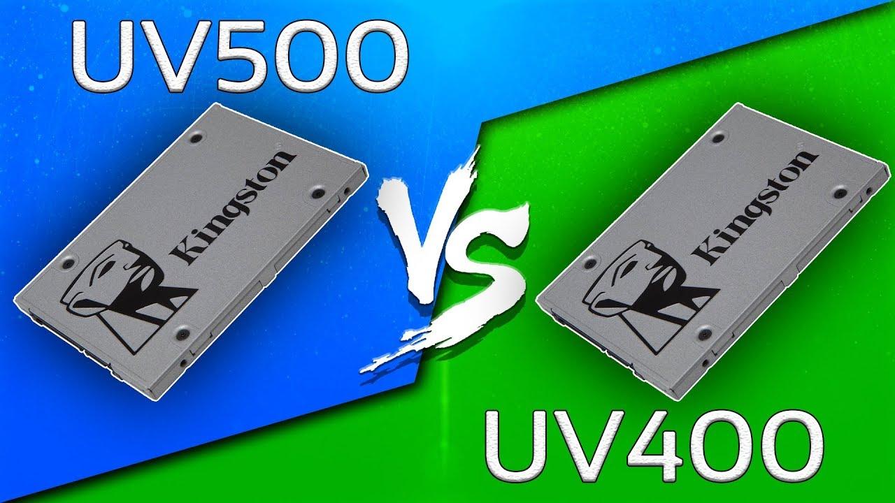Kingston UV500 vs UV400 SSD (240GB) - Comparison