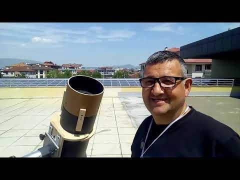 Amatör Astronom Uğur İKİZLER ile El Yapımı Teleskop ve Gökyüzü Üzerine