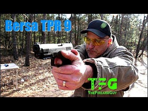 Bersa TPR9 Range Review (Best Bersa Handgun) - TheFireArmGuy