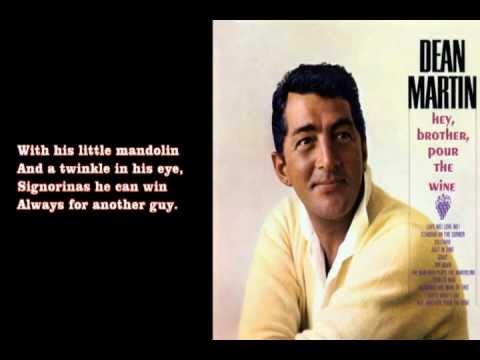 The Man Who Plays The Mandolino (1957) - Dean Martin