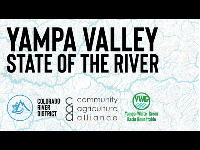 Yampa Valley State of the River - July 29, 2020