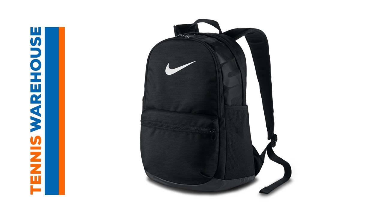 Nike Brasilia Medium Backpack - YouTube 5c57fe03c8dc9