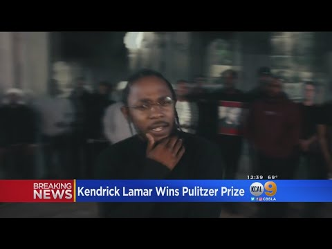 Compton's Own Kendrick Lamar Wins Pulitzer Prize For 'Damn'