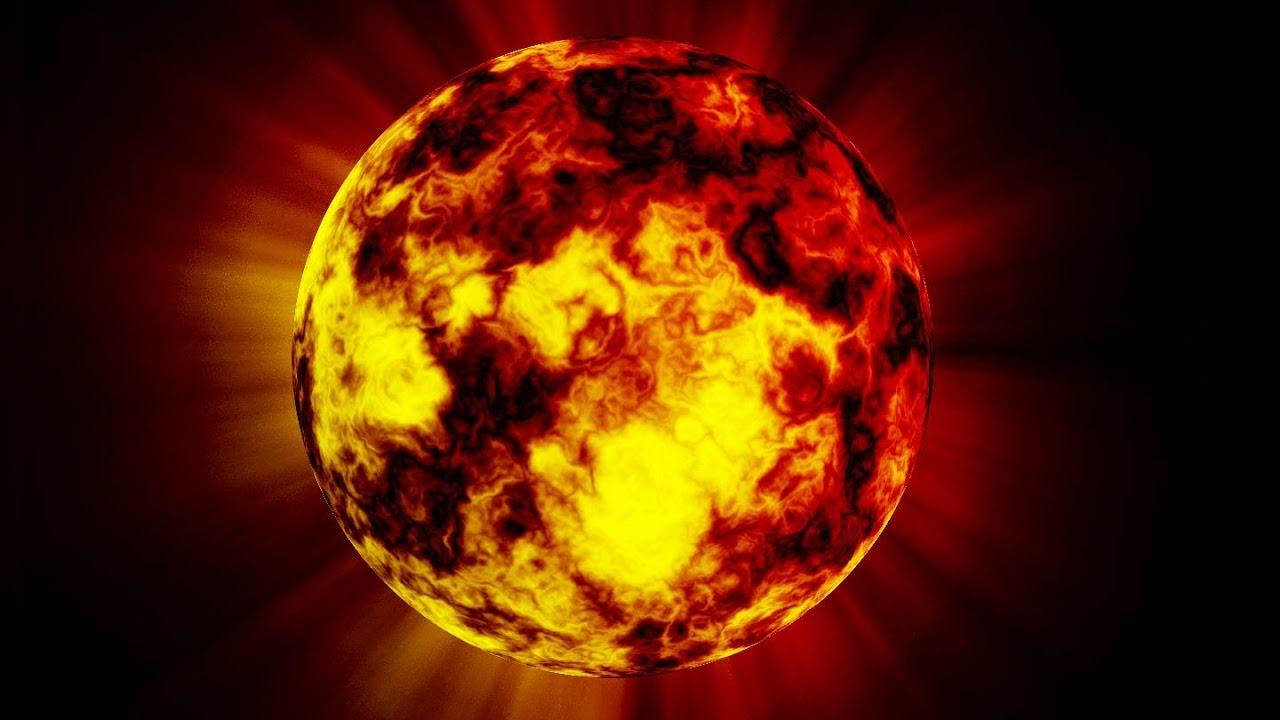 картинки огненного солнца