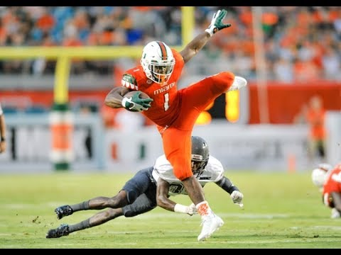 Most Underrated RB in College Football || Mark Walton || Miami 2016-17