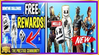 'NEW' Fortnite LEAKED Free Rewards, 'ALL' Fortnite v7.30 SKINS, EMOTES ' BACKBLINGS! (Mise à jour 7.30)