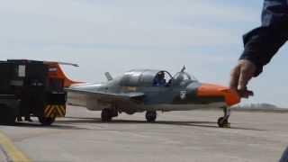 Morane-Saulnier MS.760 Paris E-042 rodando en Mendoza 31-08-2014