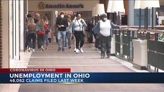 Unemployment update in Ohio