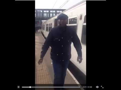 West Ham Fans Allow a Black Man Onto a Train