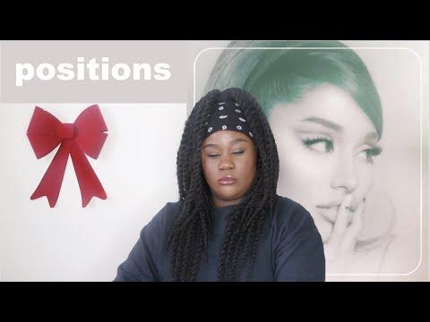 Ariana Grande - positions Album |REACTION|