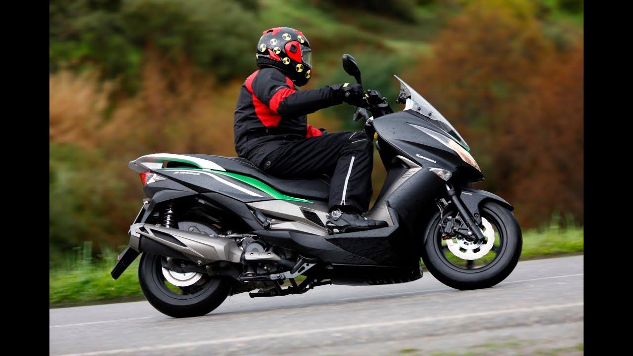 test 2014 kawasaki j300 motorscooter youtube. Black Bedroom Furniture Sets. Home Design Ideas