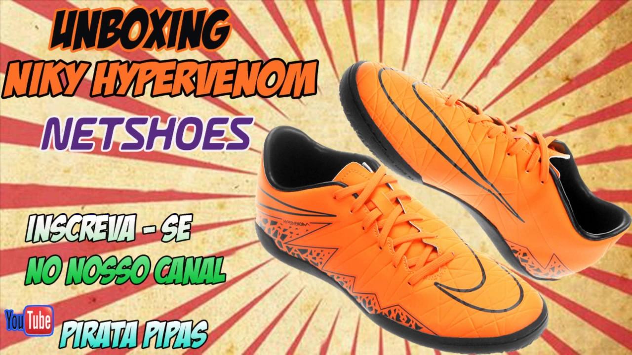 Unboxing Sapato netsapatos nike hypervenom lc Futsal netsapatos Sapato YouTube 559bbf
