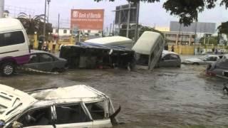 inondation Mortelle a Port Louis Samdi 30 Mars 2013