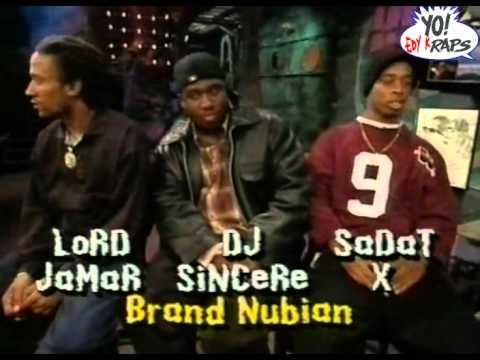 Brand Nubian - Interview @ Yo MTV Raps 1994 (HQ)