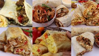 6 Best Homemade Wrap(Chicken,Beef,Egg,vegetable ) By Recipes Of The World