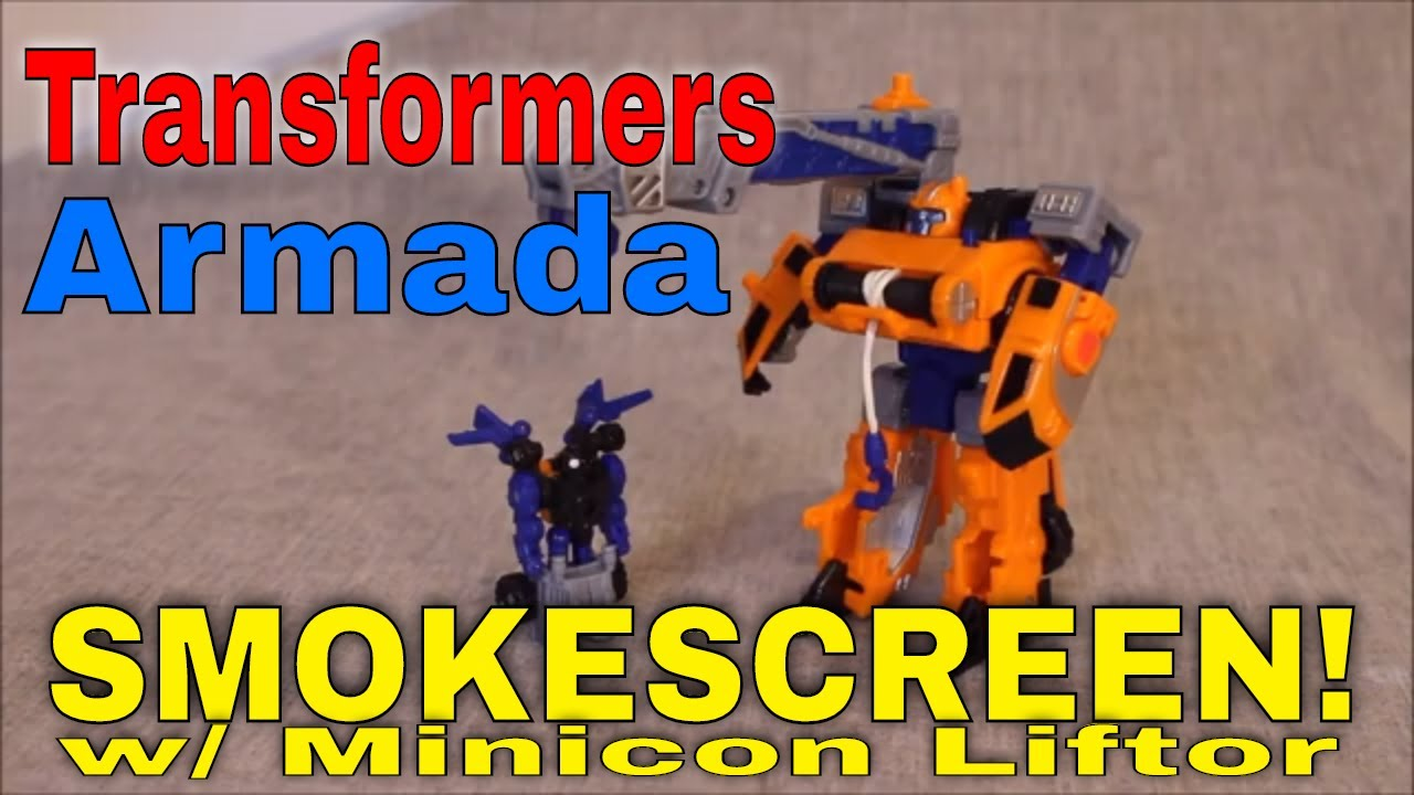 A Heavy Hauler: Transformers Armada Smokescreen and Liftor By GotBot