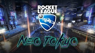 New Map Neo Tokyo - Rocket League Soccer 2v2 Multiplayer Gameplay With Brother - Live Call Outs