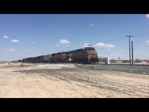 Tren de mercancías USA  Union Pacific.
