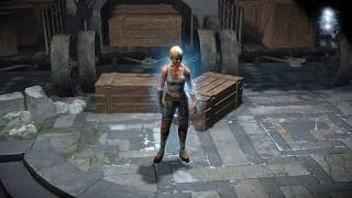 Path of Exile: Ice Character Effect
