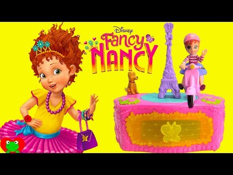 Disney Fancy Nancy Music Jewelry Box