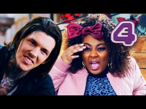 Real Life Witch Needs A Tattoo To Prevent Licking And Spitting At People! | Tattoo Fixers