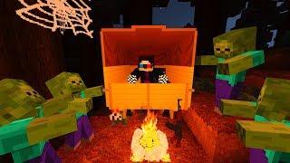НІЧ У ЛІСІ! НІЧНИЙ КОШМАР! ДЕНЬ 20. ЗОМБІ АПОКАЛІПСИС В МАЙНКРАФТ! - (Minecraft - Серіал)