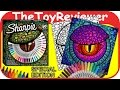 Sharpie 30 Permanent Markers Special Edition 3 Coloring Pages Unboxing Toy Review by TheToyReviewer
