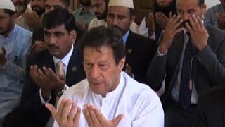 Pakistan Prime Minister Imran Khan offers Eid prayers | AFP