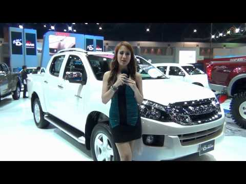 น้องยีน กับ Isuzu Dmax รุ่นใหม่ Motor Show 2012