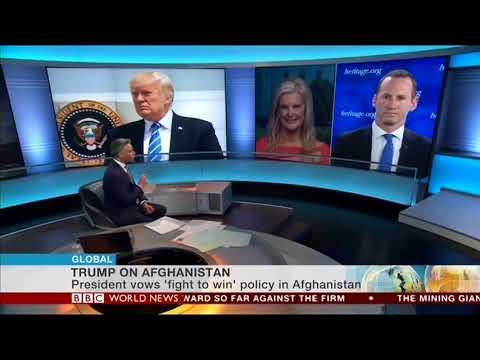 Luke Coffey Talks Afghanistan Strategy with BBC News