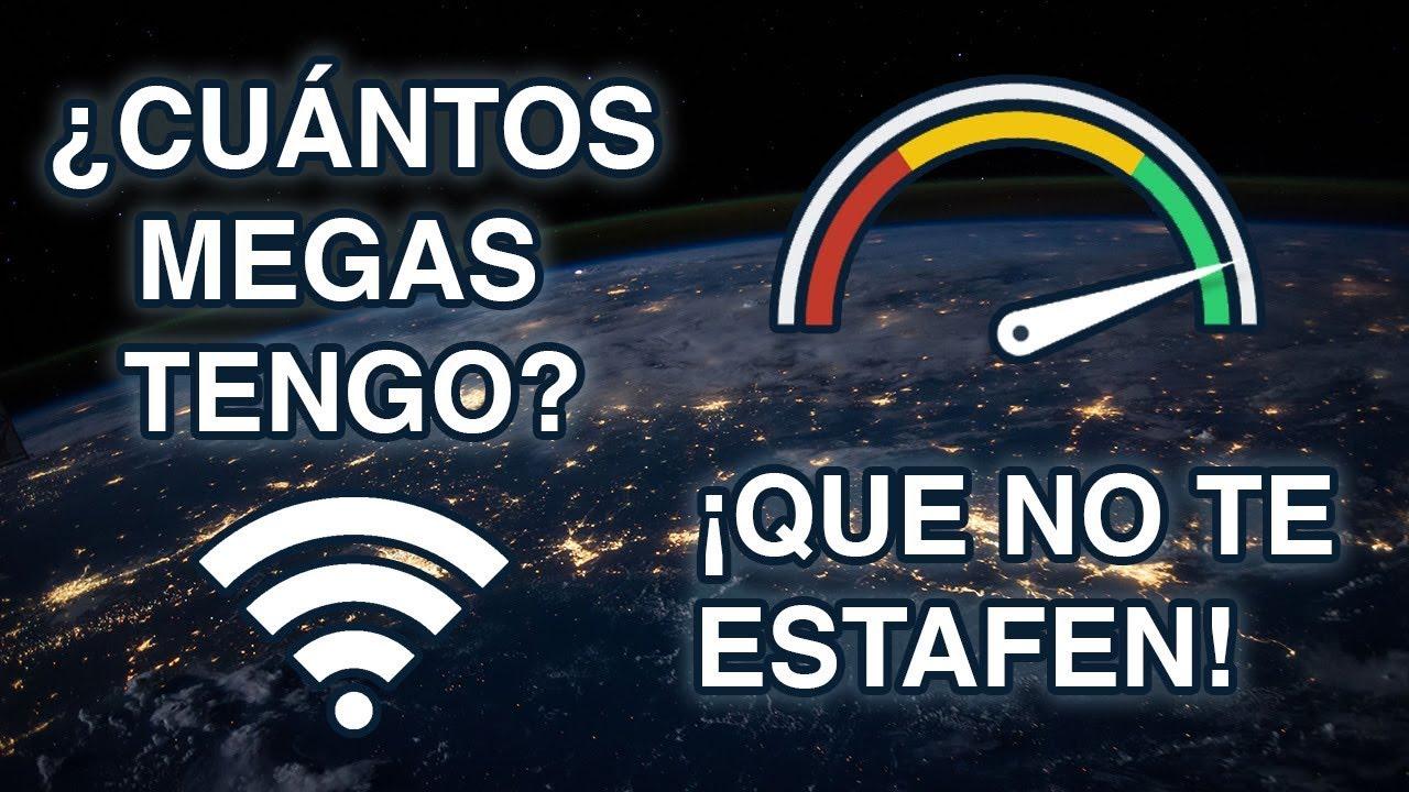 Download ¿Cuántos megas tiene mi internet? QUE NO TE ESTAFEN