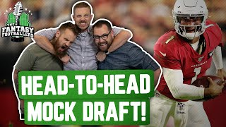 Fantasy Football 2020 - Head-to-Head Mock Draft Episode! - Ep. #899